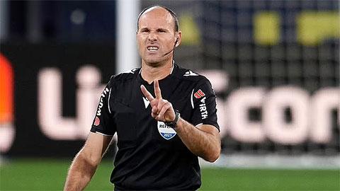 Trọng tài khắc tinh của Guardiola bắt trận chung kết Champions League