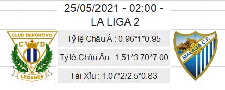 Soi kèo Leganes vs Malaga, 02h00 ngày 25/5