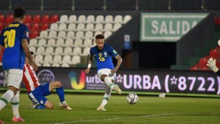 Phân tích kèo hiệp 1 Paraguay vs Brazil, 7h30 ngày 9/6