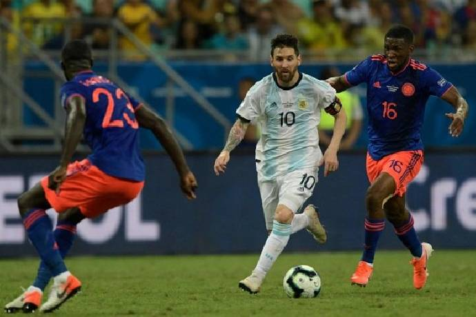 Phân tích kèo hiệp 1 Colombia vs Argentina, 6h00 ngày 9/6